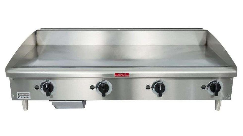 "TMGM48 Toastmaster 48"" Manual Flat Top Grill"