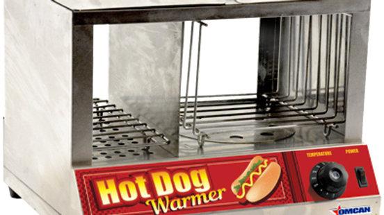 Omcan 40305 (FW-CN-1200) Hot Dog Steamer,  side by side hot dog steamer