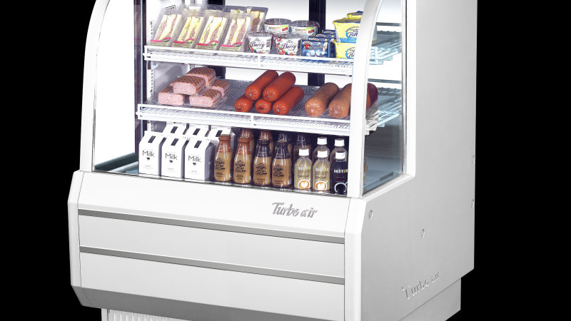 "Turbo Air TCDD-48H-W-N - Deli Case, refrigerated, 48-1/2""W, High Profile"