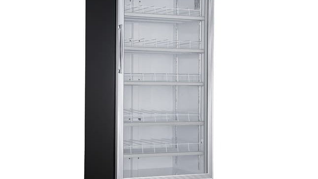 DSM-19R Commercial Single Glass Swing Door Merchandiser Refrigerator