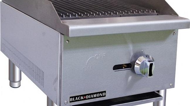 Black Diamond BDECTC-16/NG 16in Standard Series Charbroiler NG