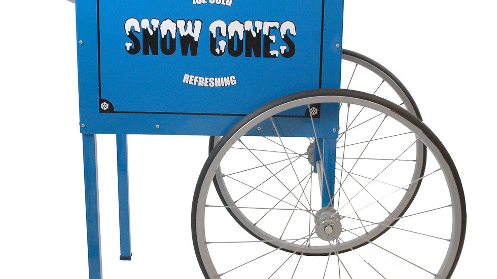 Trolley for Snow Cone Machine