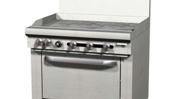 "S36D-3G Southbend S-Series 36"" Griddle with Oven"