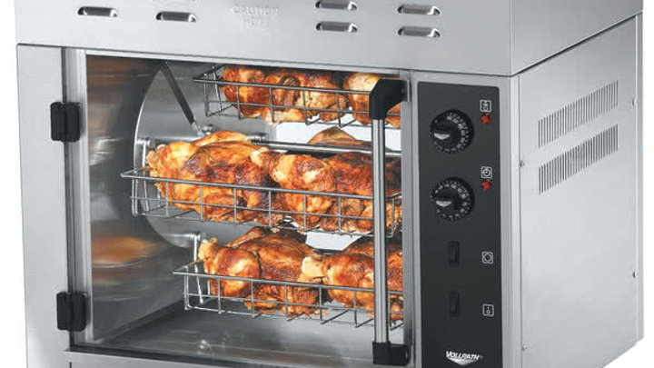 Vollrath 40704 8 Bird Countertop Electric Rotisserie Oven 208/240V