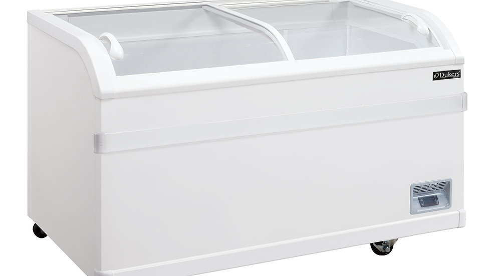 Dukers WD-500Y Commercial Chest Freezer in White