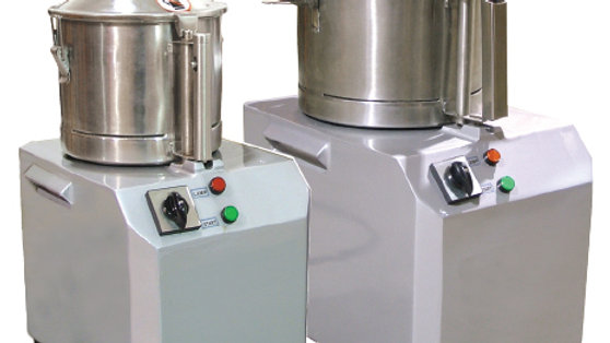 "Omcan (Fma) Qs Series Bowl Cutters 5 L Bowl Capacity1.9 Hp110V/60/11400 Rpm15"" X"