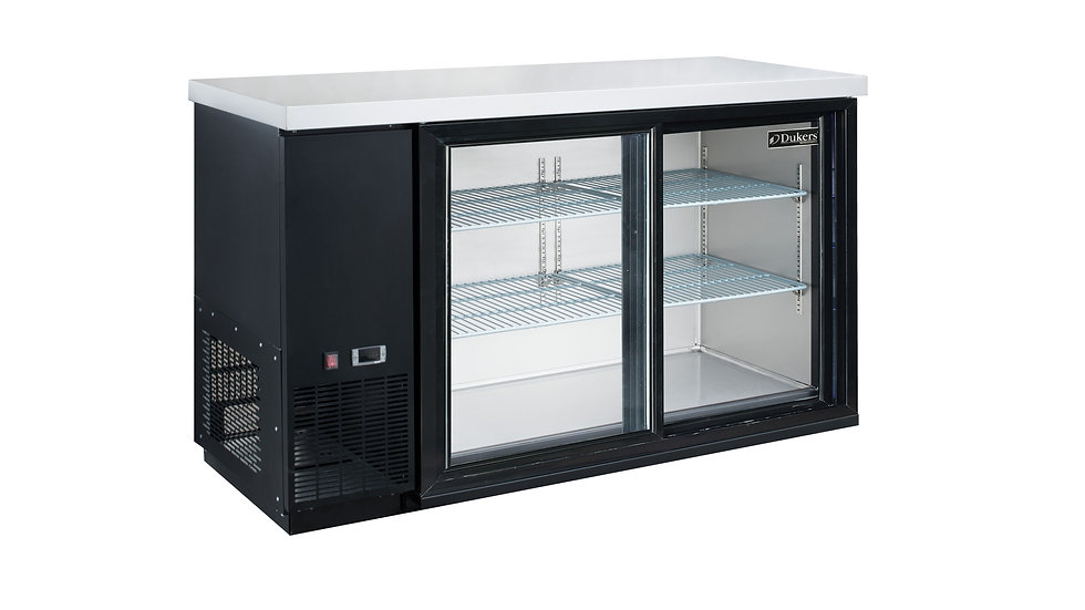 DBB48-S2 2-Door Bar and Beverage Cooler (Sliding Doors)