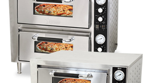 Double Chamber Pizza Oven