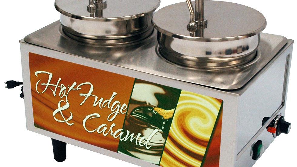 Benchmark-USA 51074H Hot Fudge/Caramel Warmer 2 Pumps
