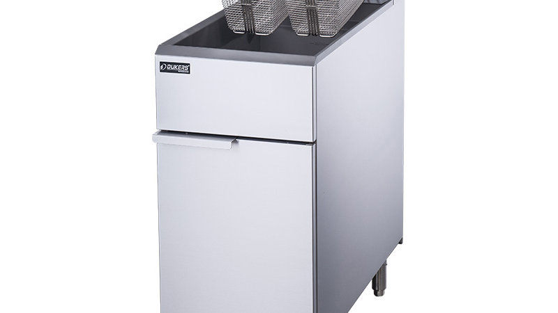 DCF3-NG Natural Gas Fryer with 3 Tube Burners