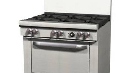 S36D Southbend S- Series 6 Burner with Oven