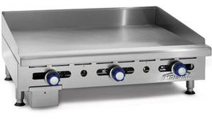 "IMGA-3628 Imperial 36"" Commercial Gas Griddle Counter Top Flat 3/4"" Plate"