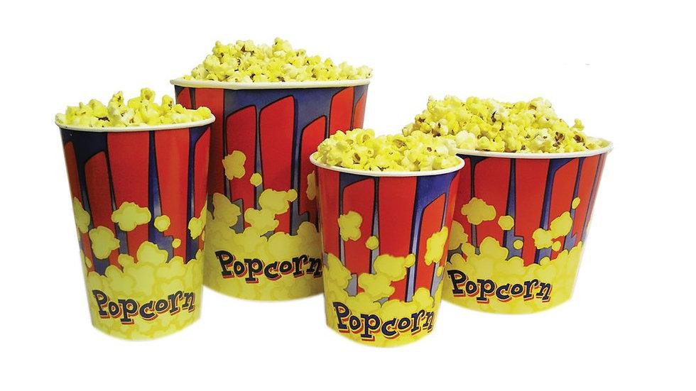 Benchmark USA 32 oz. Popcorn Tubs 100 ct