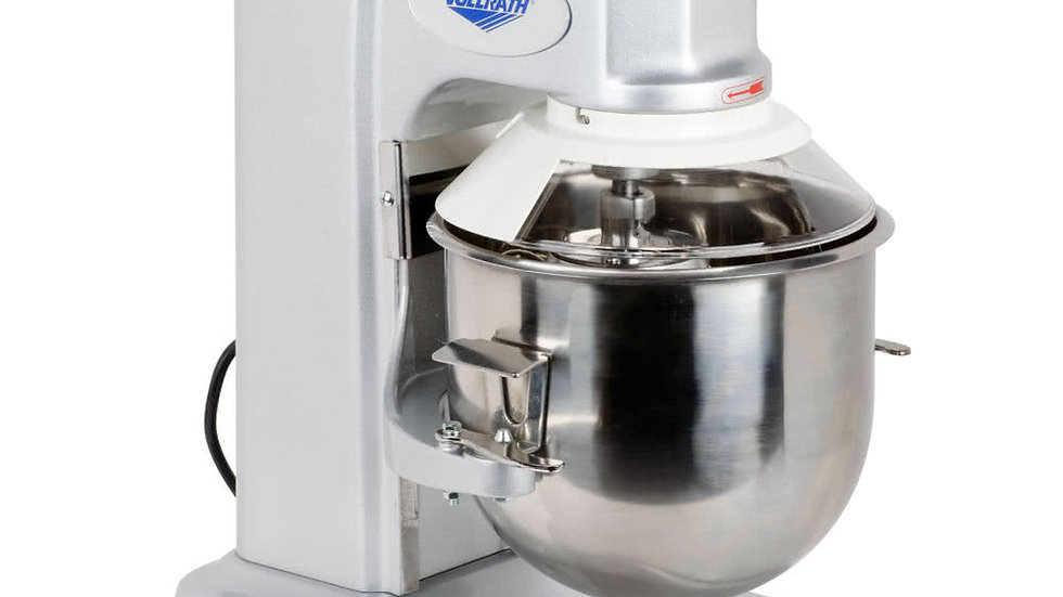 ollrath 40756 10 Qt. Commercial Planetary Stand Mixer with Guard - 1/3 hp