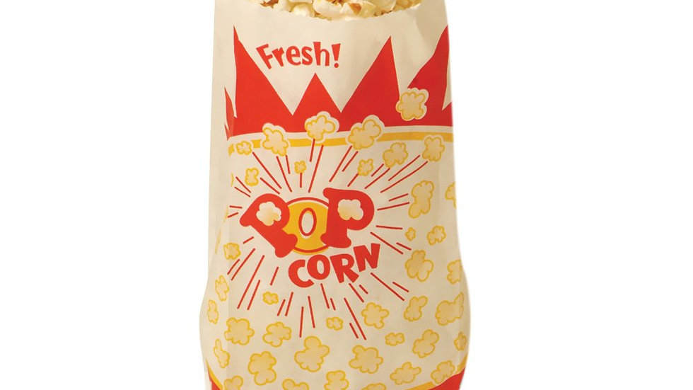 One ounce popcorn bags (1000 per case)