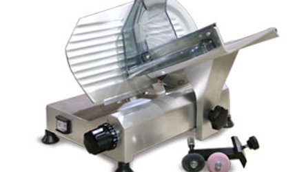 "Omcan MS-IT-0195 13606 Light Duty Italian Made 8"" Deli Meat Vegetable Slicer"