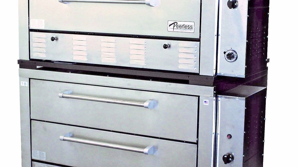 """Peerless Ovens CW62PSC 4 Deck Gas Pizza Oven (16- 16"""" Pizza Capacity)"""