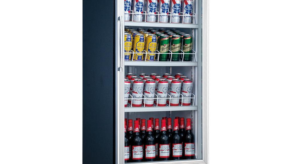 DSM-12R Commercial Single Glass Swing Door Merchandiser Refrigerator