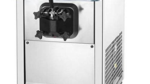 LUNAR ICE Countertop Single Flavor Ice Cream Machine Model LIIC-1H