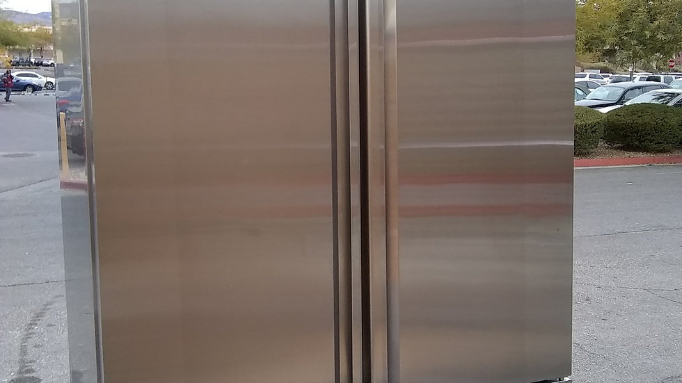 SABA SS Double Door Refrigerator S-47R