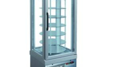 4 Sided Glass Rotating Refrigerator TEKNA_4401 NFP