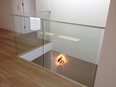 frameless glass ballustrading