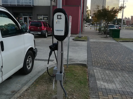 Lafayette's First Community-Funded Electric Vehicle Charging Station
