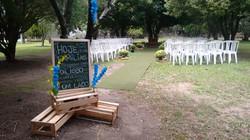 Cerimonia Casamento em chácara