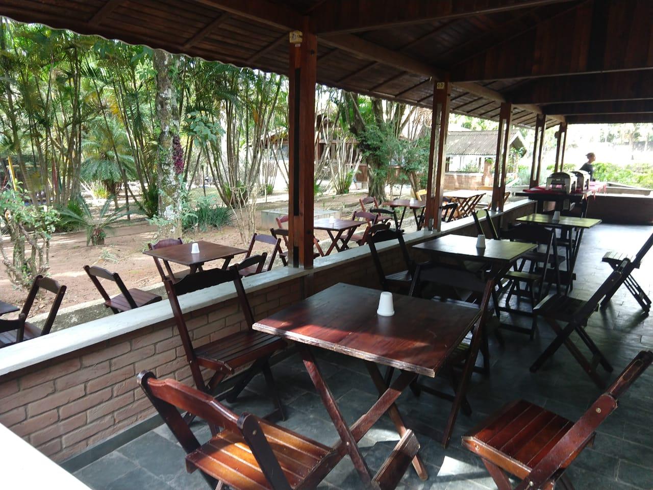 Mesas de Madeira Rancho Alegro
