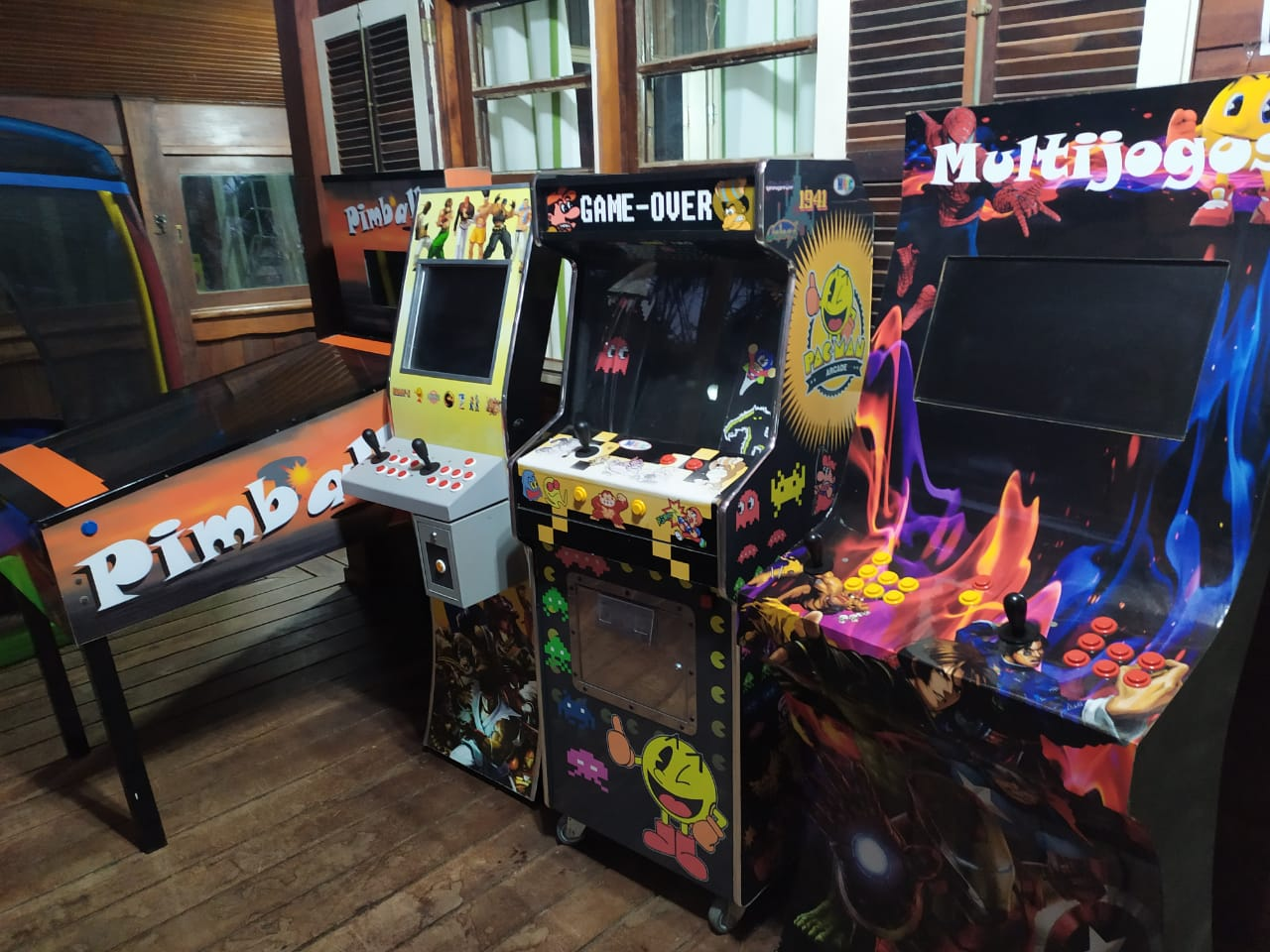Sala de jogos Rancho Alegro