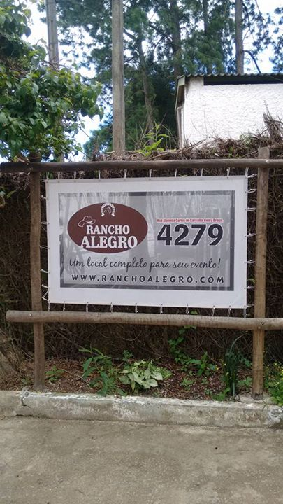 Placa Rancho Alegro
