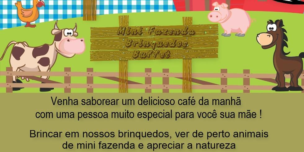 CAFÉ DA MANHÃ ESPECIAL DIA DAS MÃES