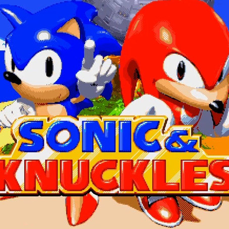 SONIC AND KNUCKLES (GENESIS)
