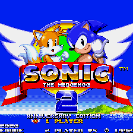 SONIC THE HEDGEHOG 2 (GENESIS)