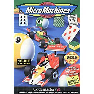 MICRO MACHINES (GENESIS)