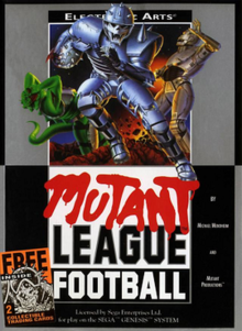 MUTANT LEAGUE FOOTBALL (GENESIS)