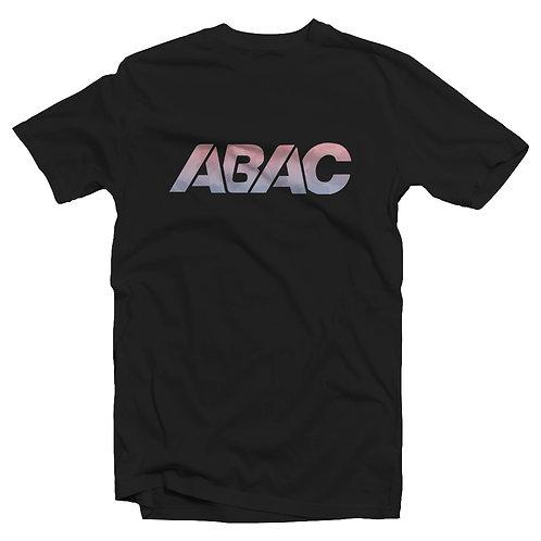 ABAC gradient camo logo tee [black]