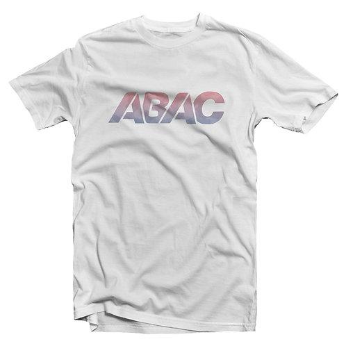 ABAC gradient camo logo tee [white]