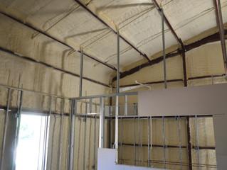 Metal Building Spray Foam Insulation
