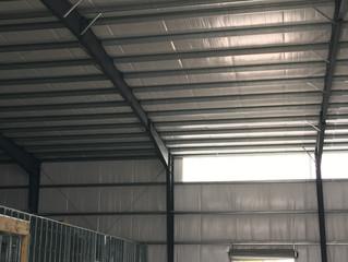 Translucent fiberglass panels