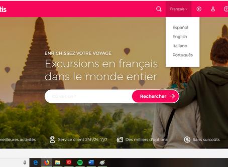 Visites guidées et excursions en français dans le monde entier.