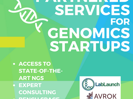 Are you a genomics startup? This is for you.