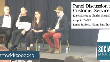 Panel Discussion : Customer Service Elise Murray & Charles Mercadal, mophie/ZAGG James Sanford,