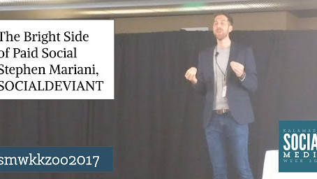 KEYNOTE: The Bright Side of Paid Social Stephen Mariani, SOCIALDEVIANT