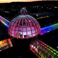 Meadowhall Pride Lights
