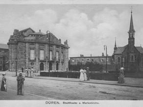 Der Dürener Hoeschplatz im Jahr 1910