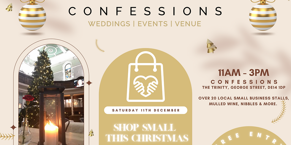 Shop Small This Christmas with Confessions