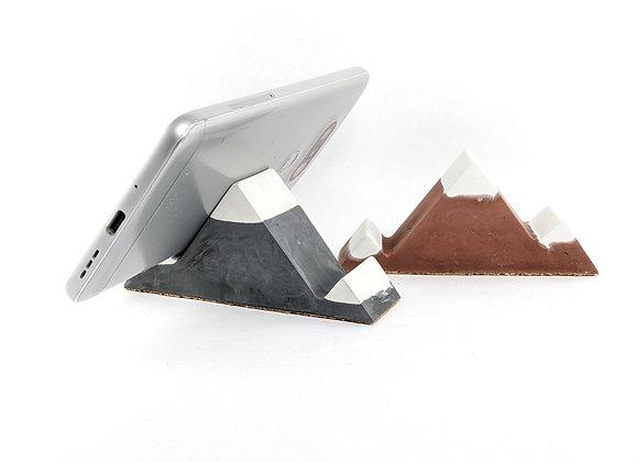 Mountain cell phone holder - Peak white