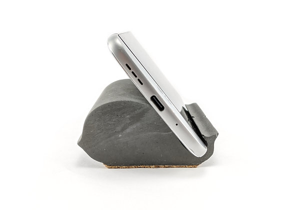 Dolphin shaped cell phone  and business card holder