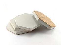 Concrete Coasters set